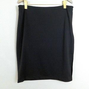 Worthington Black Skirt Size XL